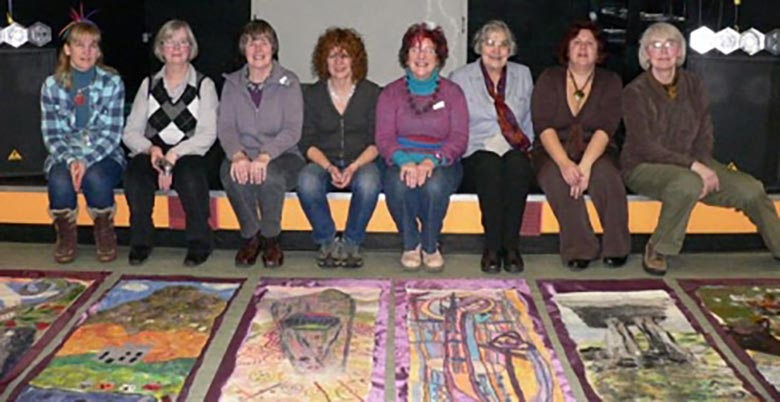 Banner Making in Dunblane
