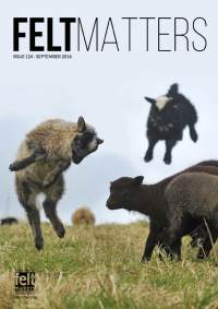 Issue 124 of FeltMatters, the magazine of the Internation Feltmakers Association