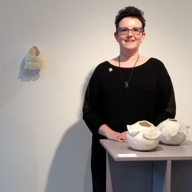 Laura Mabbutt Exhibitions Officer of the International Feltmakers Association
