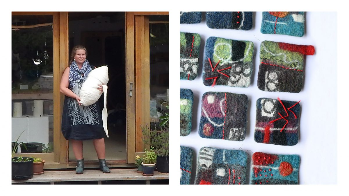 Fiona Duthie_Exclusive feltmaking video for International Feltmakers Assocation members