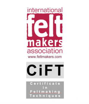 CiFT – Certificate in Feltmaking Techniques – IFA membership is required