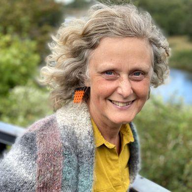 Heather Potten - member of the International Feltmakers Association Education Team