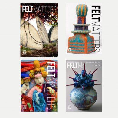 Felt Matters | quarterly journal for the International Feltmakers Assocation