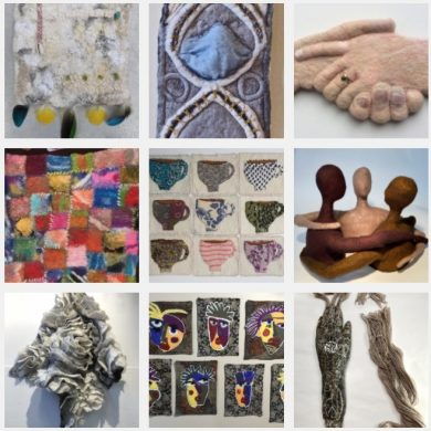 ReConnect Exhibition by the International Feltmakers Association